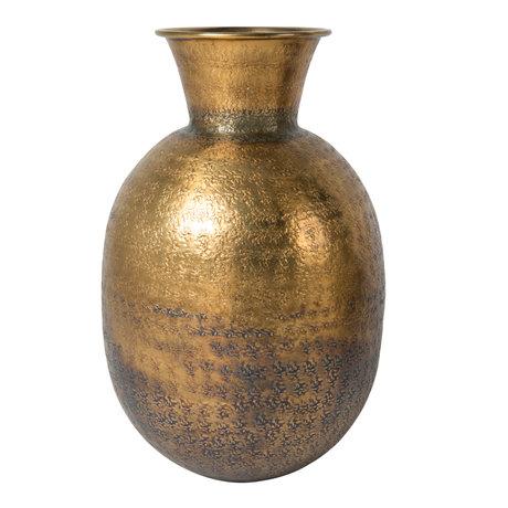 Dutchbone Vase Bahir antique brass gold ø24x38cm