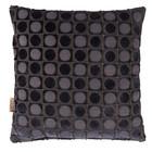 Dutchbone Kissen Ottava dunkelblau Textil 45x45cm