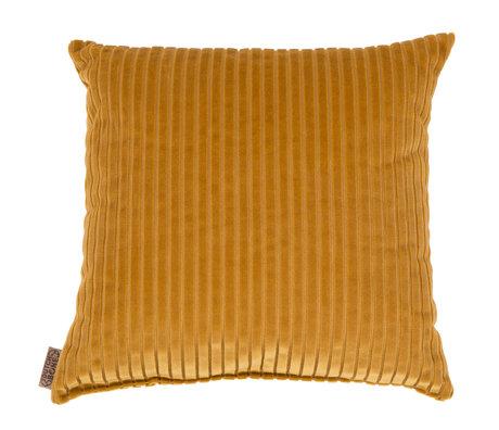 Dutchbone Sierkussen Dubai goud textiel 45x45cm