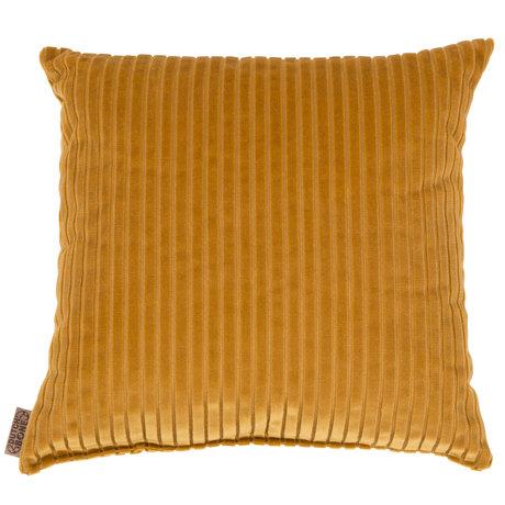 Dutchbone Throw pillow Dubai gold textile 45x45cm