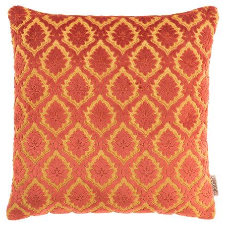 Dutchbone Kissen Ruhm alten roten Textil 45x45cm