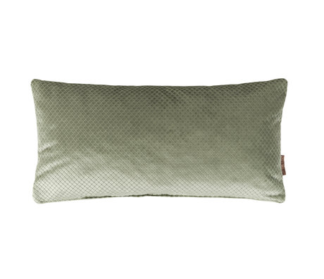 Dutchbone Cushion Spencer old green velvet 30x60cm