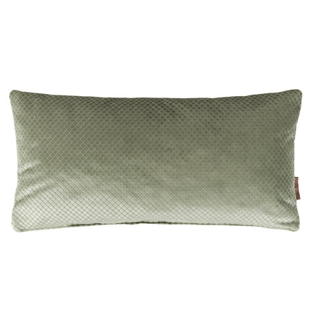 Dutchbone Kissen Spencer alten grünen Samt 30x60cm