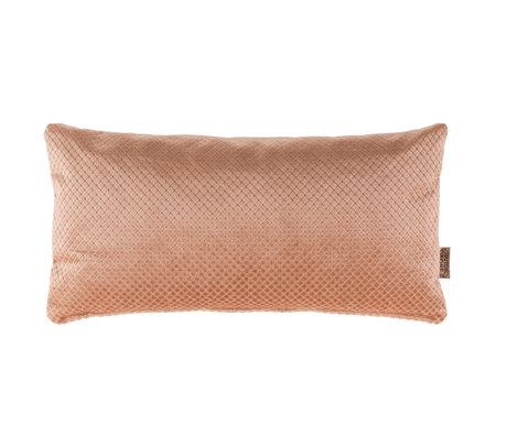 Dutchbone Cushion Spencer old pink velvet 30x60cm