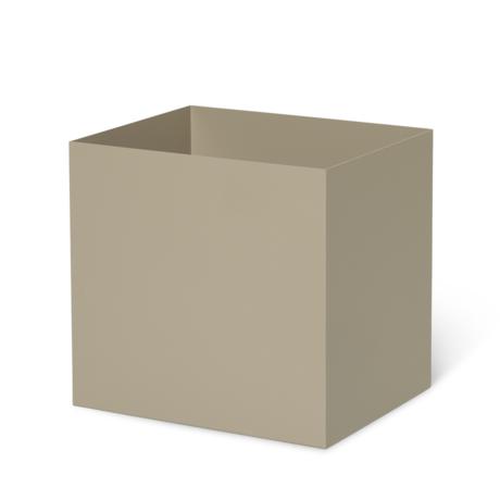 Ferm Living Blumenkasten Topf Cashmere beige Metall 19,4x24x22,5cm