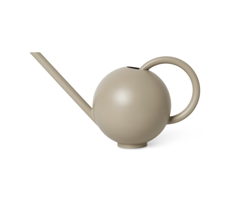 Ferm Living Watering can Orb Cashmere metal 34.6x16x19.4 cm