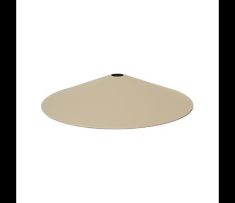 Ferm Living Abat-jour Angle Cachemire métal Ø58x10.5cm