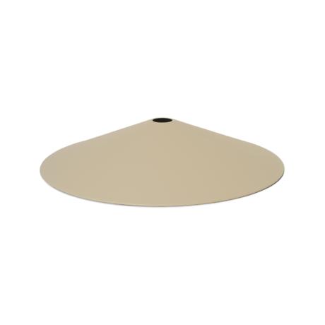 Ferm Living Lampshade Angle Cashmere metal Ø58x10.5cm