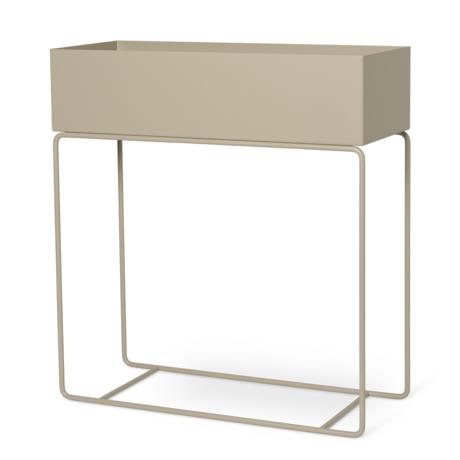 Ferm Living Pflanzkasten Cashmere beige Metall 60x25x65cm