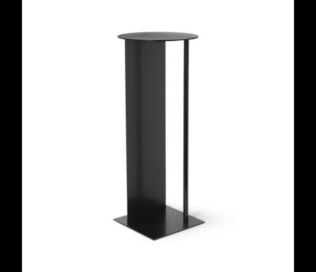 Ferm Living Pillar Place aus schwarzem Metall Ø31x75cm