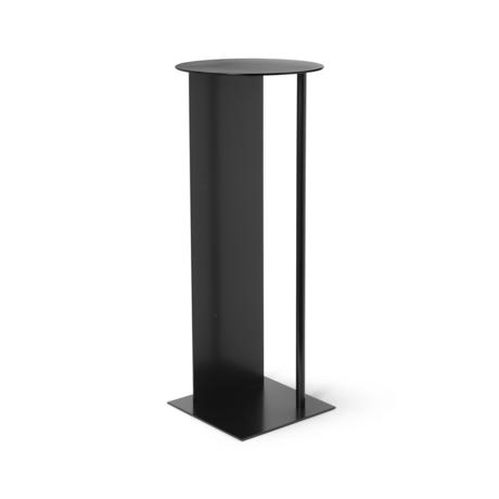 Ferm Living Pillar Place noir Ø31x75cm en métal