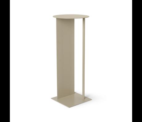 Ferm Living Pillar Place Cachemire beige Ø31x75cm en métal