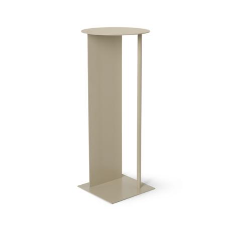 Ferm Living Pillar Place Cashmere beige metal Ø31x75cm