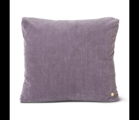 Ferm Living Cushion Corduroy Lavender purple cotton 45x45cm