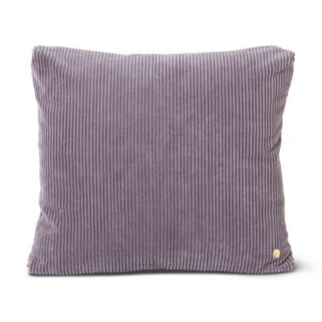 Ferm Living Sierkussen Corduroy Lavender paars katoen 45x45cm