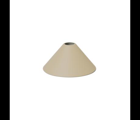 Ferm Living Lampshade Cone Cashmere metal ø25x12cm