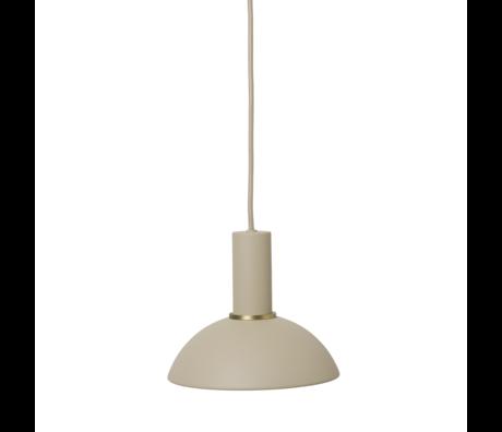 Ferm Living Lampenkap Hoop Cashmere metaal 20x7cm