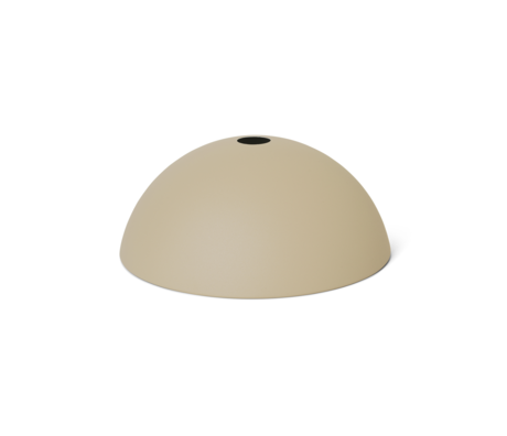 Ferm Living Lampenkap Dome  Cashmere metaal 38x16cm