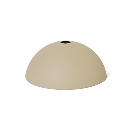 Ferm Living Lampenschirm Dome Cashmere Metall 38x16cm