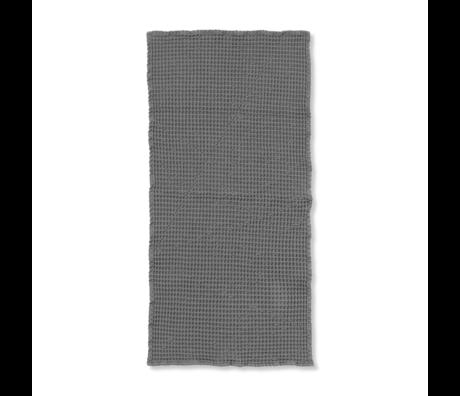 Ferm Living Gastendoekje Organic grijs katoen 50x100cm