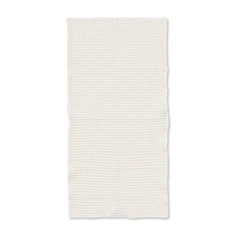 Ferm Living Guest towel Organic Off-White cotton 50x100cm