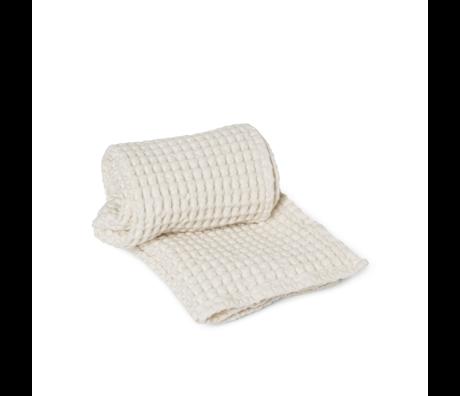 Ferm Living Gästetuch Bio Off-White Baumwolle 50x100cm