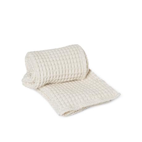 Ferm Living Guest towel Organic Off-White cotton 50x100cm