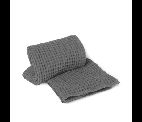 Ferm Living Handdoek Organic grijs katoen 70x140cm