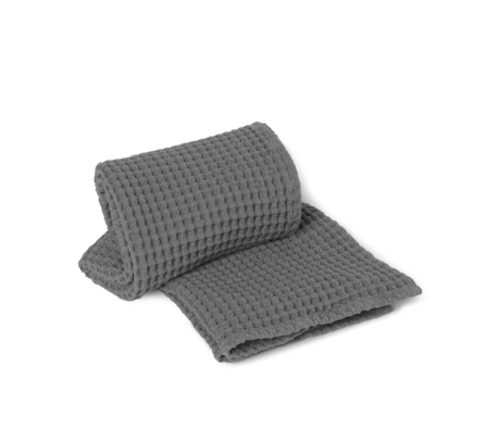 Ferm Living Organic gray cotton towel 70x140cm