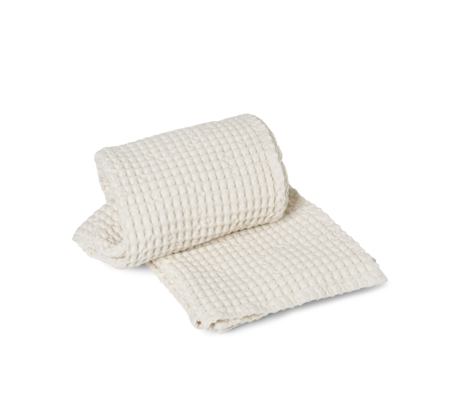 Ferm Living Organic Off-White cotton towel 70x140cm