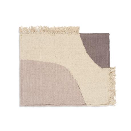 Ferm Living Placemat Earth gray cotton 42x30 cm