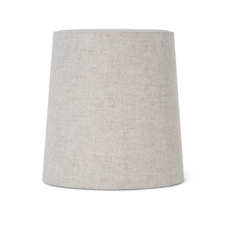 Ferm Living Lampshade Hebe Medium Natural brown textileØ27.5x27.5x28.5cm / Ø23x48cm