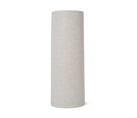Ferm Living Lampenschirm Hebe Long naturbraun Textil 30x80cm