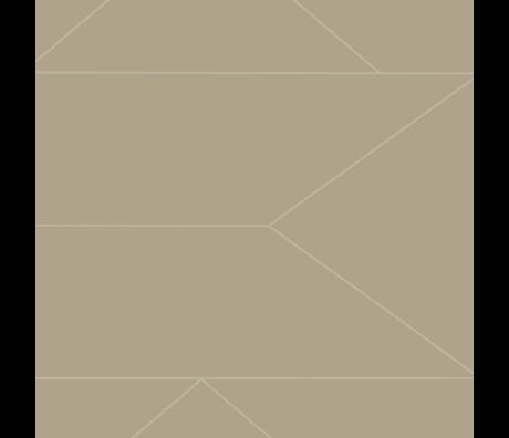 Ferm Living Tapetenlinien Kaschmir-Vlies-Vlies-Tapeten 0,53 x 10,05 m