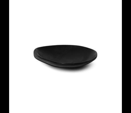 Ferm Living Tablett Forest Small Messing schwarz 16,2x15,3x3,3cm