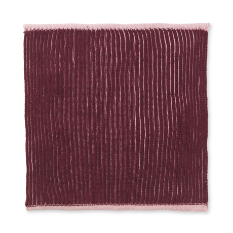 Ferm Living Dishcloth Twofold dusty pink cotton set of 2 26x26cm