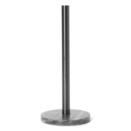 Ferm Living Küchenrollenhalter schwarz Messing Metall 14x32cm