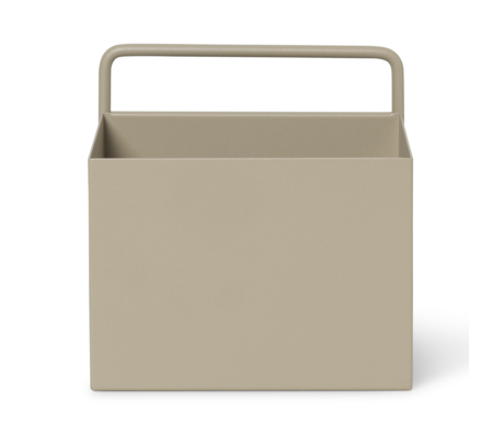 Ferm Living Plant box wall Square Cashmere metal 15.6 x 14.6 x 15.6 cm