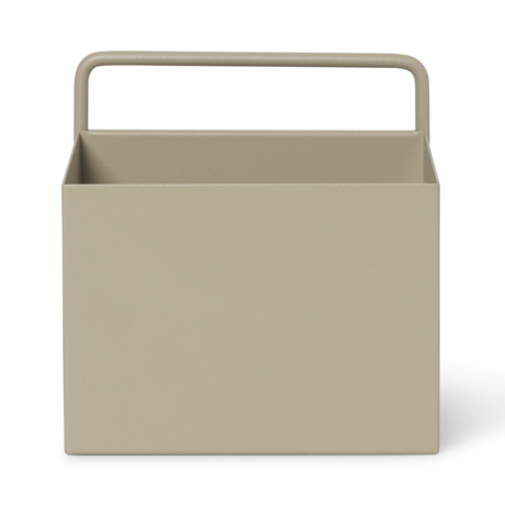 Ferm Living Plant box wall Square Cashmere metaal 15,6x14,6x15,6cm