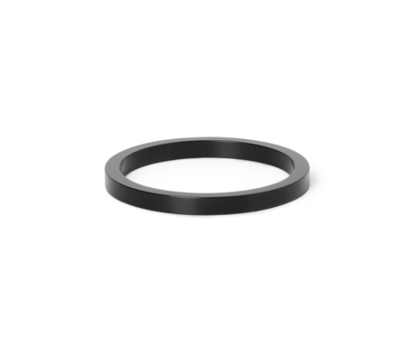 Ferm Living Bague Collect pour Lampes à collectionner noir Laiton métal Ø5.5x0.5cm
