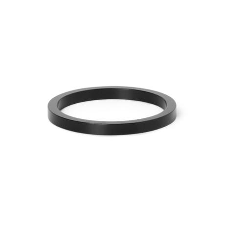 Ferm Living Collect ring voor Collect lampen zwart Brass metaal Ø5,5x0,5cm