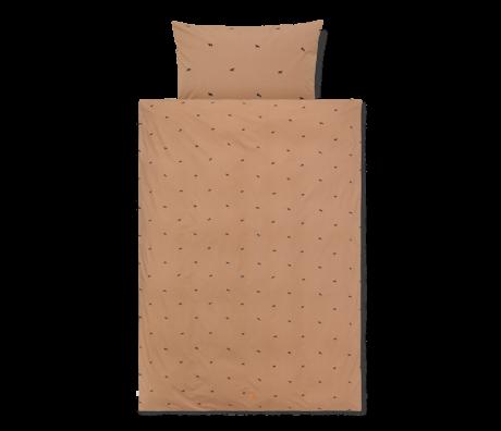 Ferm Living Bettbezug Horse Junior Tan braun Baumwolle 100x140cm