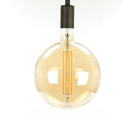 wonenmetlef Birne LED Lenny Bernstein gelb Glas E27 Ø20x28cm