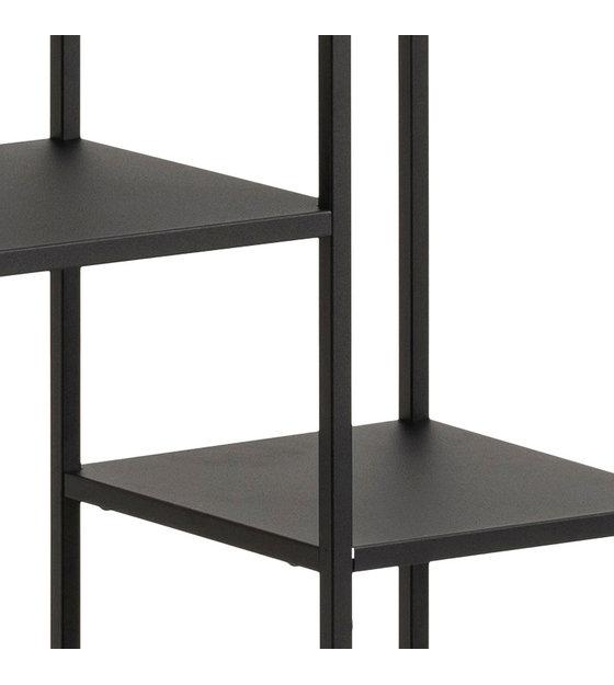 wonenmetlef 79 Armoire L de acier noir 5x30x165cm stockage Jimmy kTwXlZiuOP