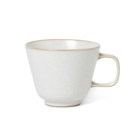 Ferm Living Coffee Dripper Sekki Cream white ceramic 11x14x9cm