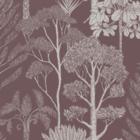 Ferm Living Wallpaper Katie Scott Trees mahony brown non woven non-woven wallpaper 53x1000cm