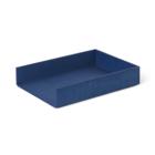 Ferm Living Plateau à courrier Plateau bleu bois 33x24x6cm