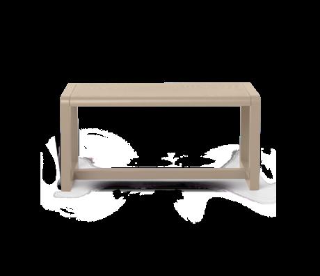 Ferm Living Bench Little Architect Cashmere wood 62x30x30cm