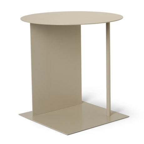 Ferm Living Table d'appoint Place Cashmere beige Ø39,5x50cm