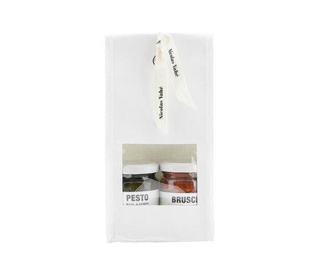 Nicolas Vahe Geschenkverpackung Pesto mit Basilikumpesto und Tomatenbruschetta 135gr.